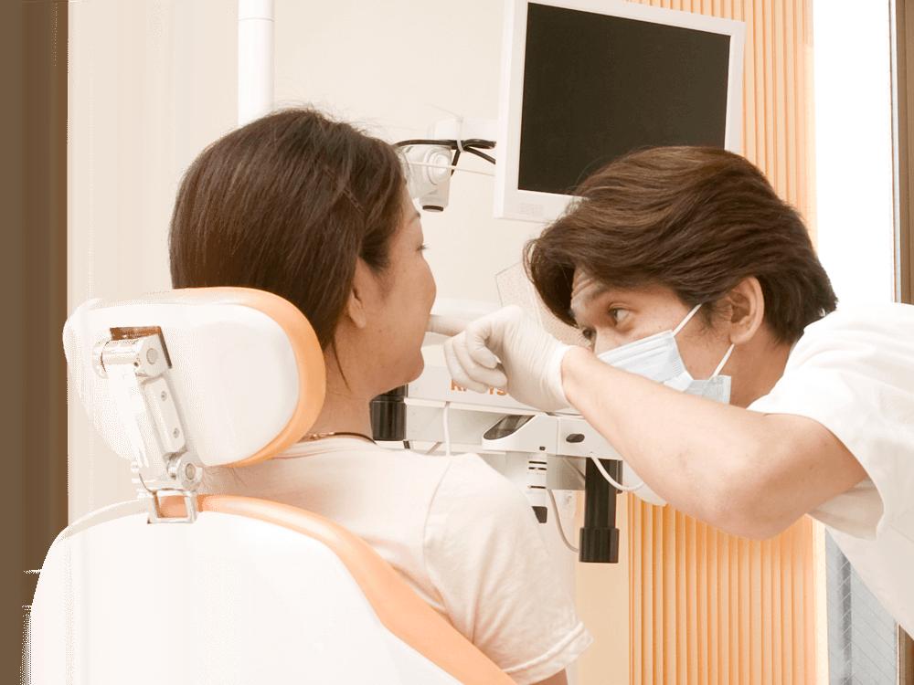 通院回数を少なく、短期間に歯科治療を終わらせる