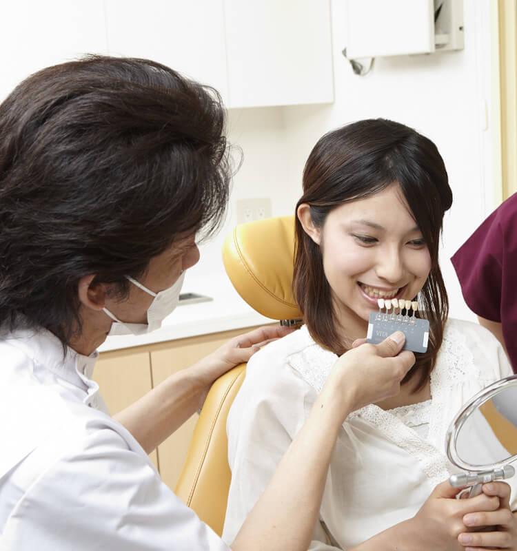 歯科技工士が常駐